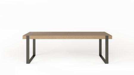 Drewniany stół rozkładany 240-340×100