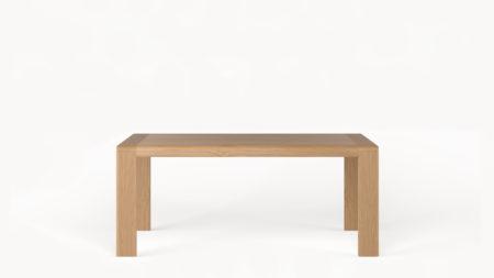 Drewniany stół rozkładany OVAL 160-240×90