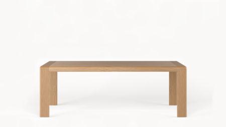 Drewniany stół rozkładany OVAL 220-320×100