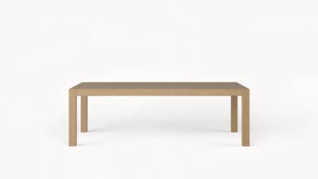 Drewniany stół rozkładany SOLID 260-390×110