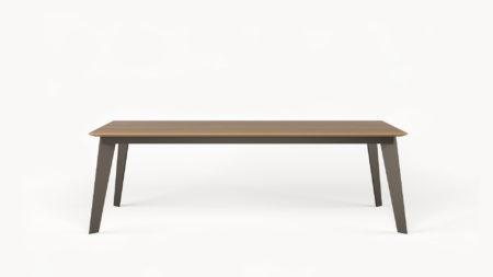 Drewniany stół rozkładany TAFFEL 240-340×100
